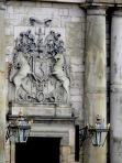Scotland's National Animal: A Unicorn- at Holyrood Palace - Edinburgh Scotland - by Anika Mikkelson - Miss Maps - www.MissMaps.com