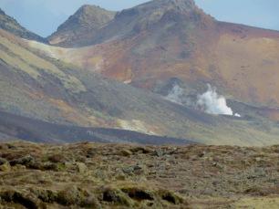 Smoke from nowhere - Iceland - by Anika Mikkelson - Miss Maps - www.MissMaps.com