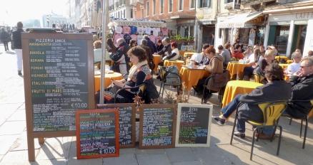 Snack Time - Venice Italy - by Anika Mikkelson - Miss Maps - www.MissMaps.com