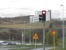 Stoplights of Love - Northern Iceland - by Anika Mikkelson - Miss Maps - www.MissMaps.com
