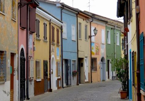 Streets of Rimini Italy - by Anika Mikkelson - Miss Maps - www.MissMaps.com