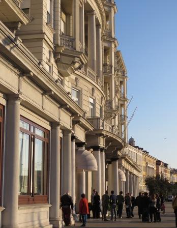 Streets of Trieste Italy - by Anika Mikkelson - Miss Maps - www.MissMaps.com