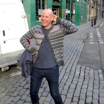 Strike a pose (after too many drinks) - Edinburgh - by Anika Mikkelson - Miss Maps - www.MissMaps.com