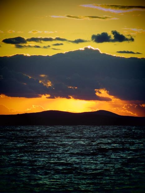 Sunset from Zadar Croatia - by Anika Mikkelson - Miss Maps - www.MissMaps.com