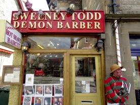 Sweeney Todd Barber of Pitlochry Scotland - by Anika Mikkelson - Miss Maps - www.MissMaps.com