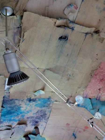 The art gallery's ceiling as it stood - Hotel Celiac Ljubljana Slovania - by Anika Mikkelson - Miss Maps - www.MissMaps.com