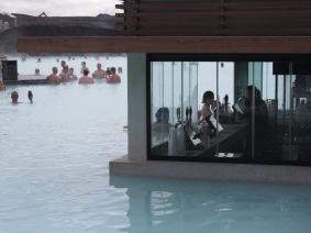 The Blue Lagoon's Swim-Up Bar - Iceland - by Anika Mikkelson - Miss Maps - www.MissMaps.com