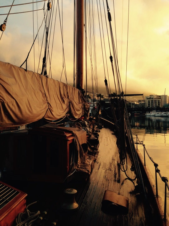 The Classic Yacht she sailed from Cape Town to Palma de Mallorca - by Kirsty Mullahy - MissMaps.com Featured Female Traveler