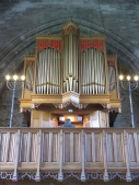 The organist of Dunkeld Cathedral Scotland - by Anika Mikkelson - Miss Maps - www.MissMaps.com