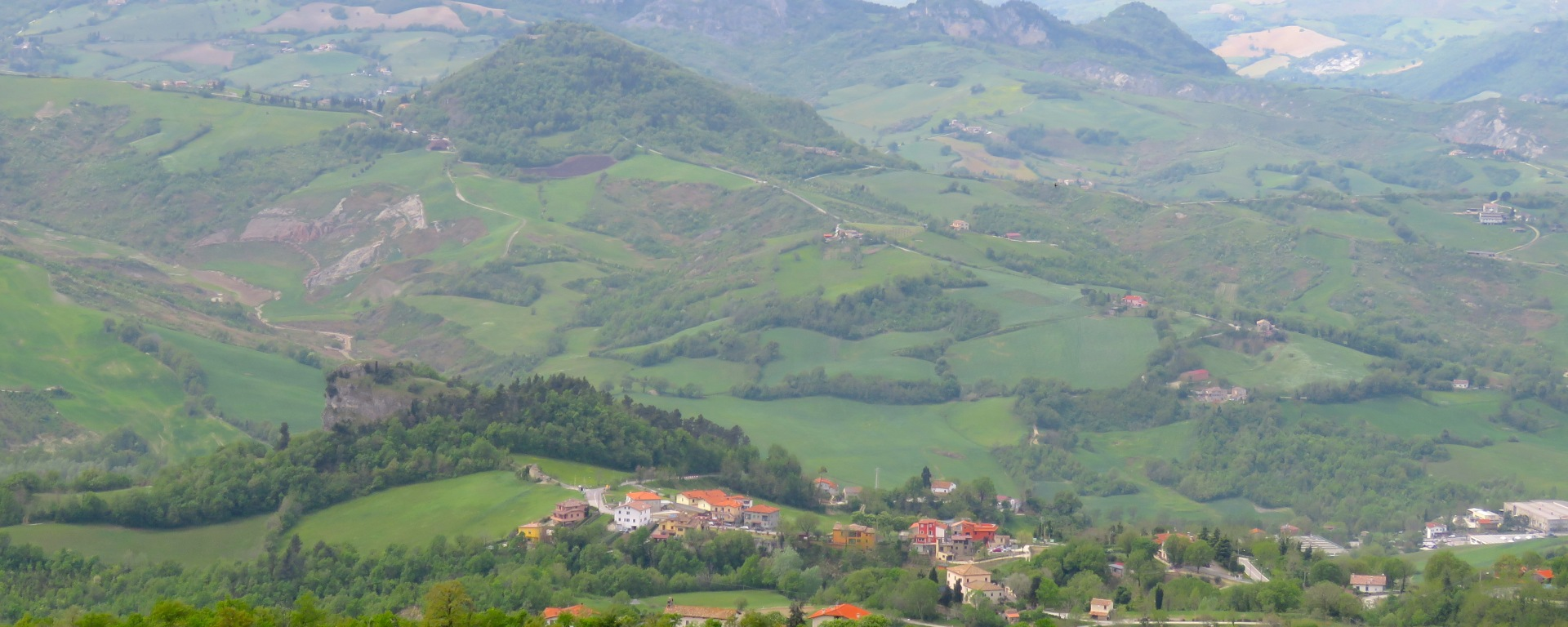 The view from San Marino - by Anika Mikkelson - Miss Maps - www.MissMaps.com