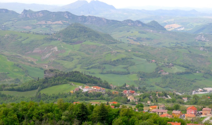 The view from San Marino - by Anika Mikkelson - Miss Maps - www.MissMaps.com