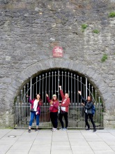 This is the Spanish Arch - Yes, we were surprised too - Galway Ireland - Shamrocker Adventure Tours - by Anika Mikkelson - Miss Maps - www.MissMaps.com