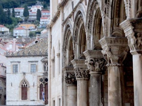 Those arches - Dubrovnik Croatia - by Anika Mikkelson - Miss Maps - www.MissMaps.com