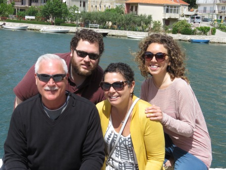 Those cuties - Mom's Birthday on our way from Split to Dubrovnik Croatia - by Anika Mikkelson - Miss Maps - www.MissMaps.com