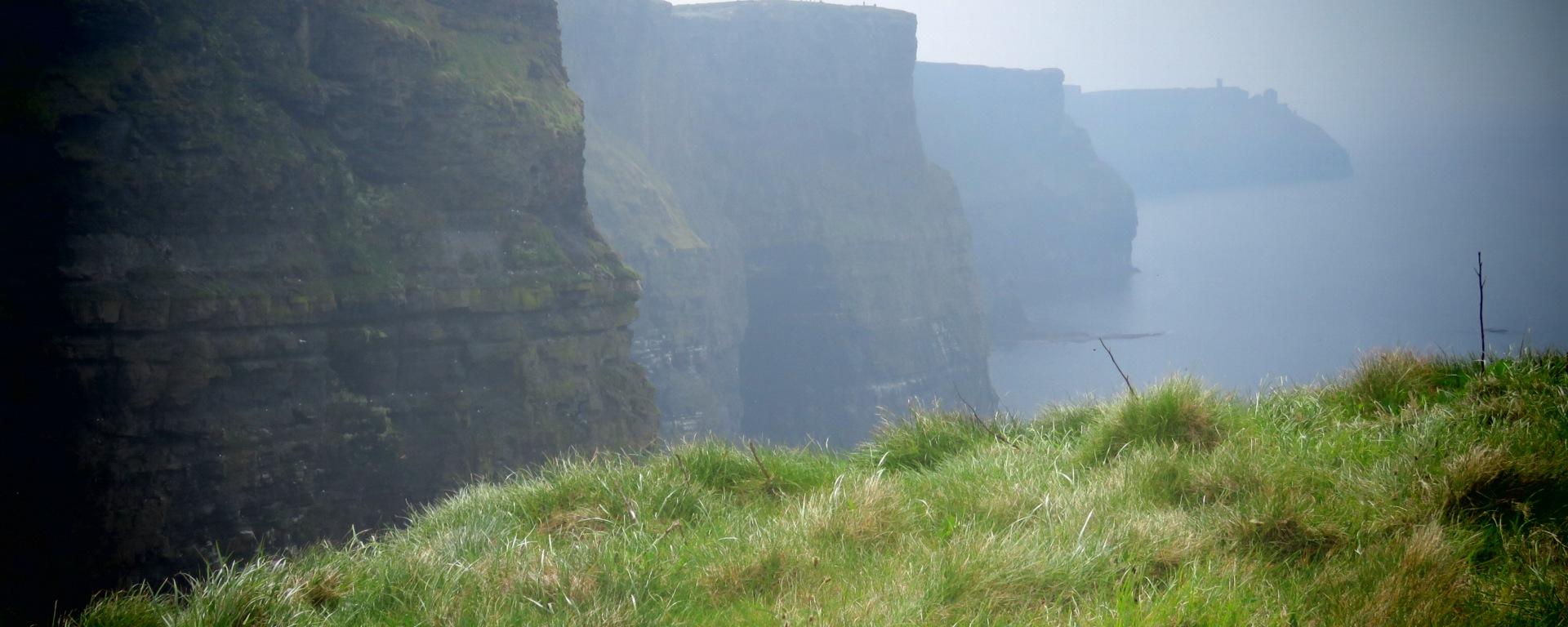 Tiny Tourists at the Cliffs of Moher Ireland - Shamrocker Adventure Tours - by Anika Mikkelson - Miss Maps - www.MissMaps.com