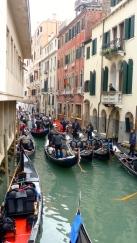 Traffic Jams - Venice Italy - by Anika Mikkelson - Miss Maps - www.MissMaps.com