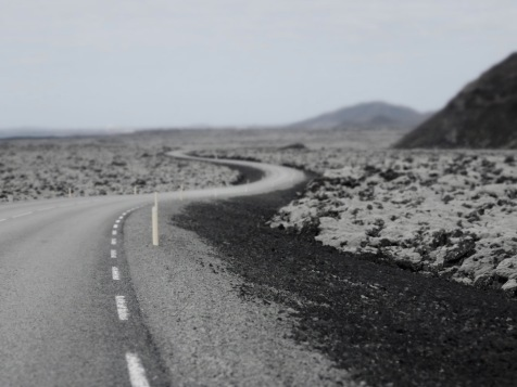 Twists and turns - Iceland - by Anika Mikkelson - Miss Maps - www.MissMaps.com