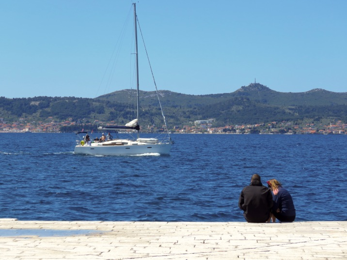 Waiting for their boat to come in - Zadar Croatia - by Anika Mikkelson - Miss Maps - www.MissMaps.com