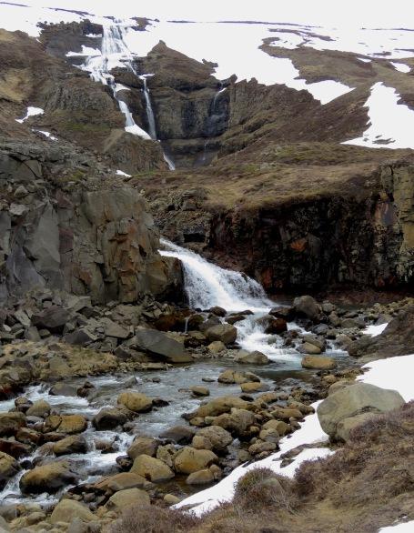 Waterfalls are around every corner in Northwestern Iceland - by Anika Mikkelson - Miss Maps - www.MissMaps.com