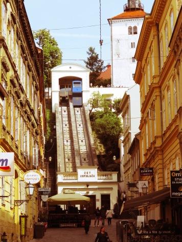 Zagreb's Cable Car - Zagreb, Croatia Croatia - by Anika Mikkelson - Miss Maps - www.MissMaps.com