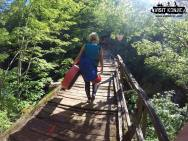 All Finished - Hiking out after Canyoning on Rakitnica River - Bosnia and Herzegovina BiH - photo by VisitKonjic.com