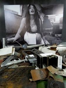 Art Installation - Tito's Bunker - Konjic Bosnia and Herzegovina - by Anika Mikkelson - Miss Maps - www.MissMaps.com