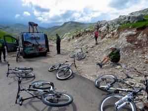 Bikes Ready for Play with Visit Konjic - Bosnia and Herzegovina - by Anika Mikkelson - Miss Maps - www.MissMaps.com