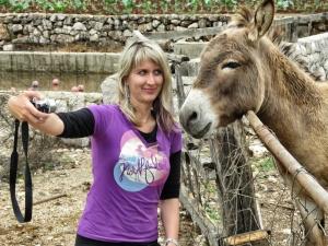 Donkey Selfies at Marica Gaj - Bosnia and Herzegovina - by Anika Mikkelson - Miss Maps - www.MissMaps.com