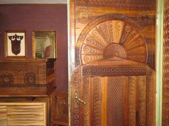 Doorway of Mulicev Rekord -Konjic Bosnia and Herzegovina - by Anika Mikkelson - Miss Maps - www.MissMaps.com