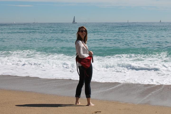 Erin in Barcelona - Miss Maps Featured Female Traveler