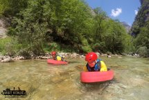 Everyone couldn't help but smile while canyoning on Rakitnica River - Bosnia and Herzegovina BiH - photo by VisitKonjic.com