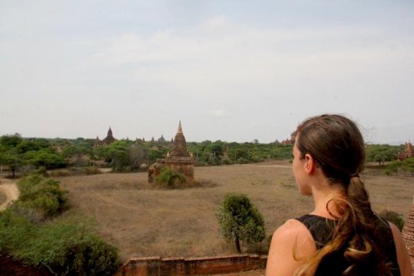 Exploring Temples In Bagan Myanmar - photo by Bianca Caruana - MissMaps.com Featured Female Traveler
