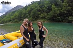 Female Travel Bloggers Rafting on River Neretva - Bosnia and Herzegovina BiH - photo provided by VisitKonjic.com
