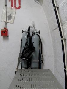 Gas Masks of Precaution - Tito's Bunker - Konijc Bosnia and Herzegovina - by Anika Mikkelson - Miss Maps - www.MissMaps.com