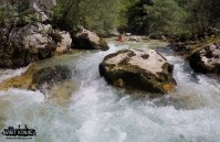 Headed Straight for the rock - Rakitnica River - Bosnia and Herzegovina BiH - photo by VisitKonjic.com