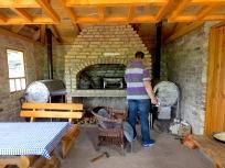 Preparing Sac at our lunch stop near Lukomir- Bosnia and Herzegovina BiH - by Anika Mikkelson - Miss Maps - www.MissMaps.com