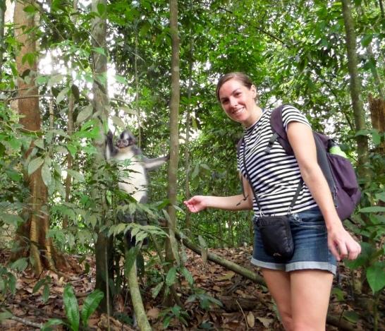 Jungle Trekking In Sumatra - photo provided by Bianca - MissMaps.com Featured Female Traveler