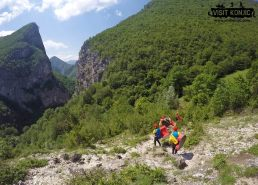 Making our way to River Neretva - Bosnia and Herzegovina BiH - photo by VisitKonjic.com