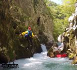 Making the Jump - Canyoning on Rakitnica River - Bosnia and Herzegovina BiH - photo by VisitKonjic.com