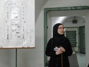 Map of Tito's Bunker - Konijc Bosnia and Herzegovina - by Anika Mikkelson - Miss Maps - www.MissMaps.com