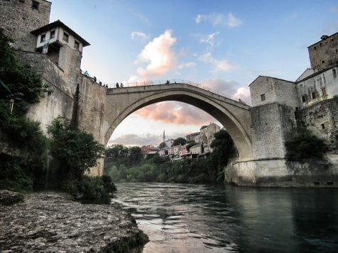 Mostar Bridge - Bosnia and Herzegovina - by Anika Mikkelson - Miss Maps - www.MissMaps.com