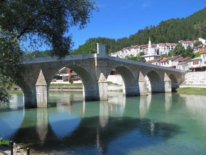 Old Bridge of Konjic Bosnia and Herzegovina - by Anika Mikkelson - Miss Maps - www.MissMaps.com