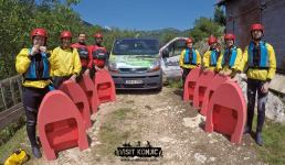Our crew ready to go canyoning on Rakitnica River - Bosnia and Herzegovina BiH - photo by VisitKonjic.com