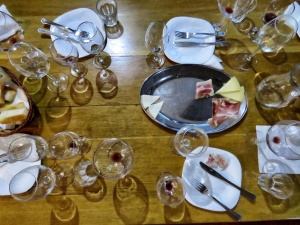 Our Meal - Finished - Winery Adrija - Bosnia and Herzegovina - by Anika Mikkelson - Miss Maps - www.MissMaps.com