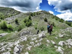 Pointing to our Goal Peak- Bosnia and Herzegovina - by Anika Mikkelson - Miss Maps www.MissMaps.com