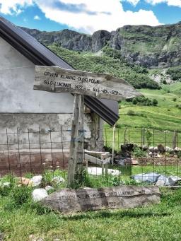 Sign to Lukomir - Bosnia and Herzegovina - by Anika Mikkelson - Miss Maps www.MissMaps.com