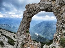 Sitting on Hadjuk's Door - Bosnia and Herzegovina - by Anika Mikkelson