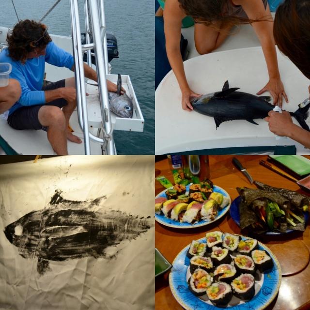 Stages of Tuna - by Kristen Breunig - Miss Maps Featured Female Traveler