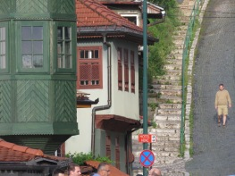 Steep Streets of Sarajevo - Bosnia and Herzegovina - by Anika Mikkelson - Miss Maps - www.MissMaps.com