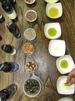 Taste Testing Pecaric Oils Metlika Slovenia - by Anika Mikkelson - Miss Maps - www.MissMaps.com